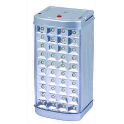 Lampada metal safe antiblackout in alluminio 40led 3w