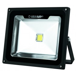 faro led cob cyclop nero 3000k 50w