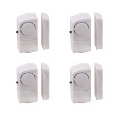4 magnetic alarms for doors and windows