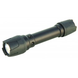 Iron case 3w led indestructible flashlight with tactical switch