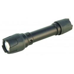 Iron case torche 3w ultra résistante interrupteur tactique