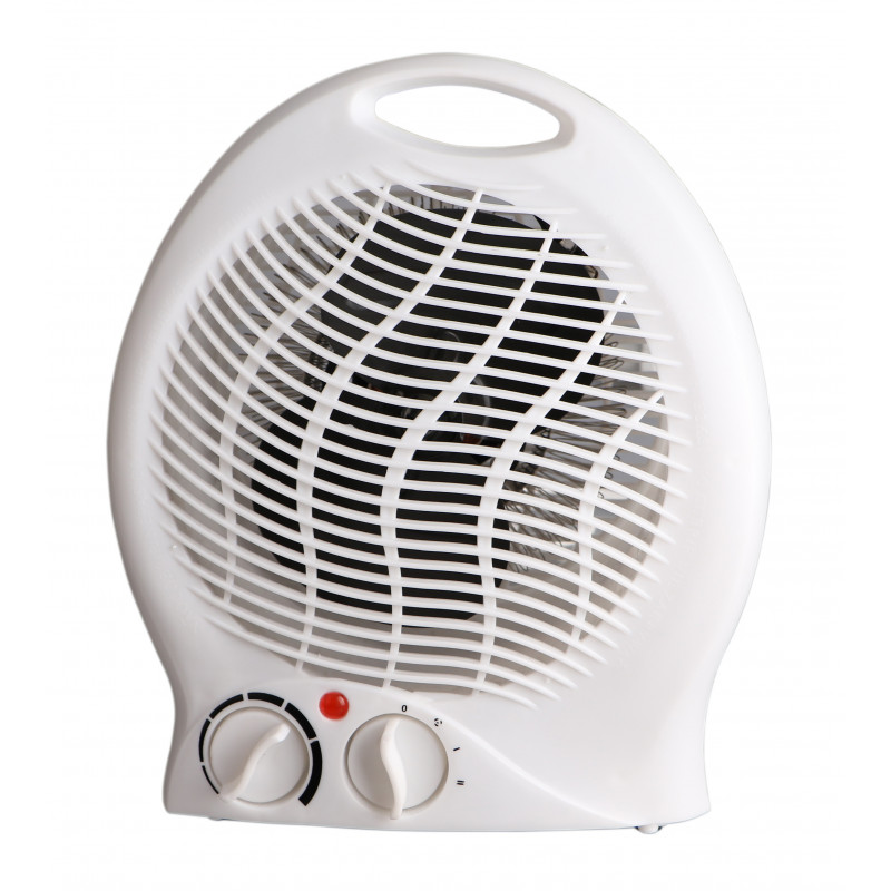 Calefactor 2000w color blanco