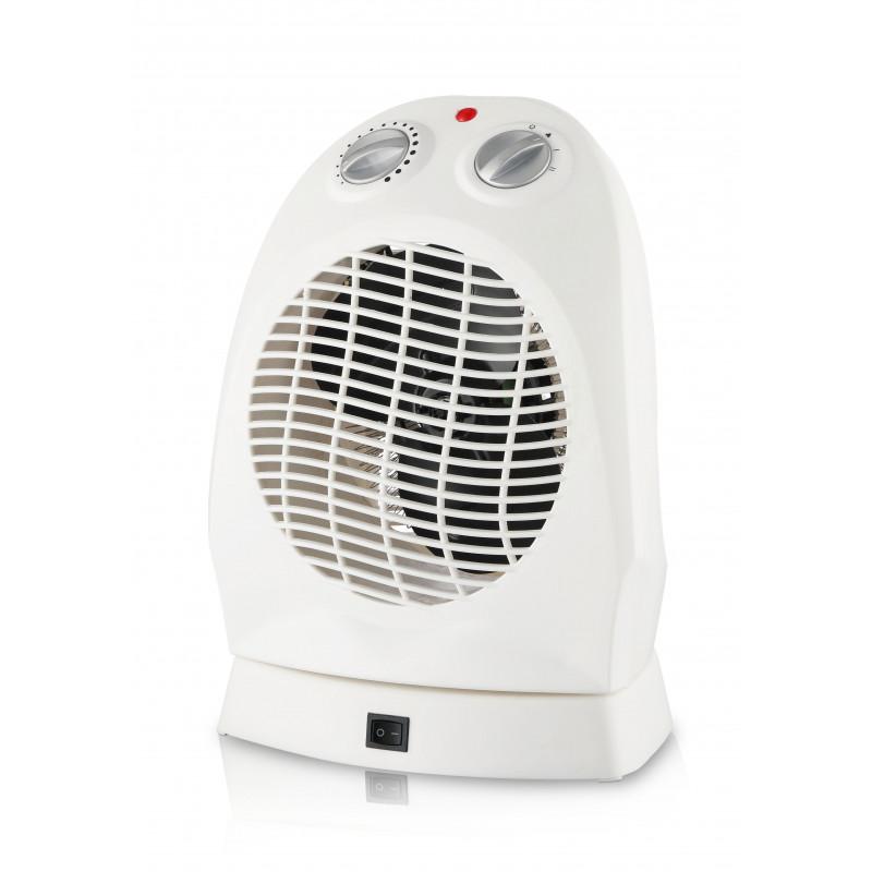 Calefactor 2000w color blanco con oscilación
