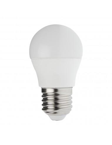 Lampadina SMD LED, Sfera P45, 6W/470lm, base E27, 3000K