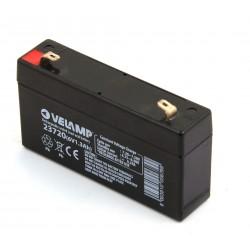 Batterie rechargeable au plomb 6V 1.3 Ah  23720 Batteries rechargeables au plomb 6V Velamp