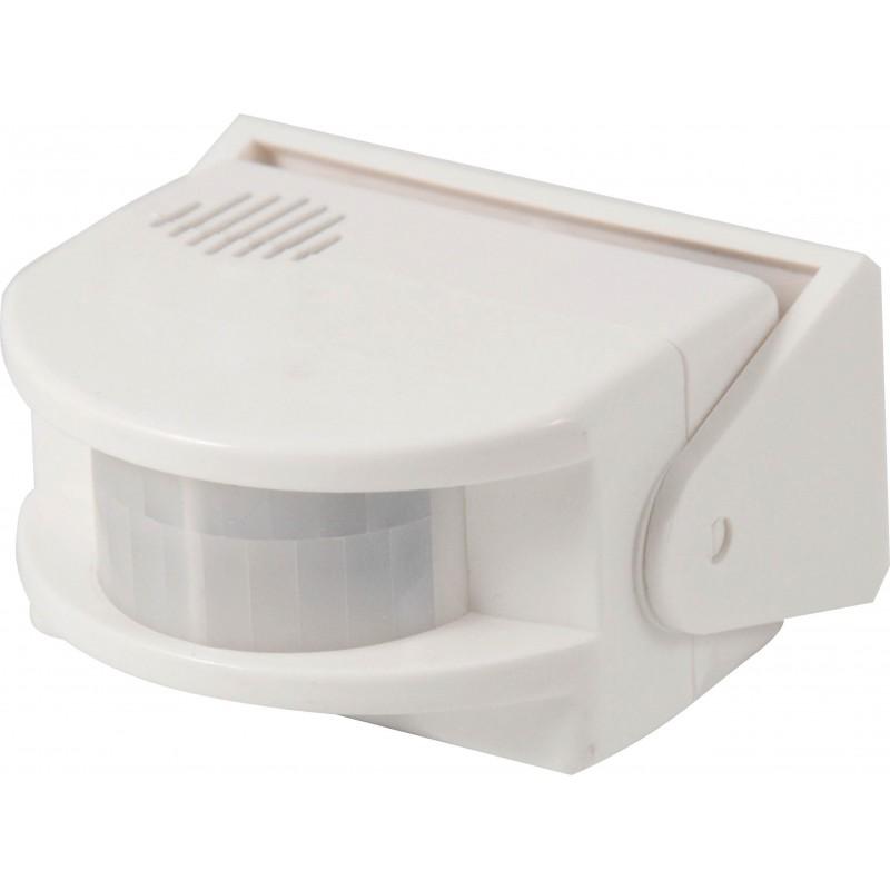 Rilevatore di movimento con campanello e allarme vigil MS004.006L Campanelli Velamp