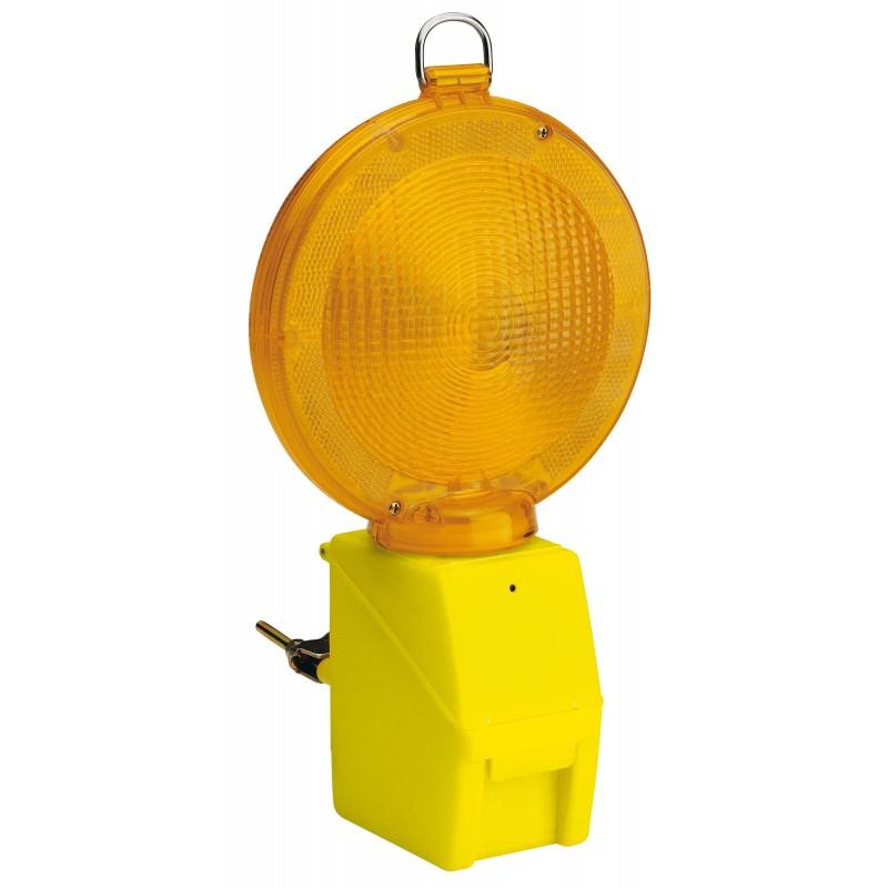 BLINK ROAD: Baliza luminosa LED, 1 x batería IL08.010B Velamp Luces de 360° para sitios de obras