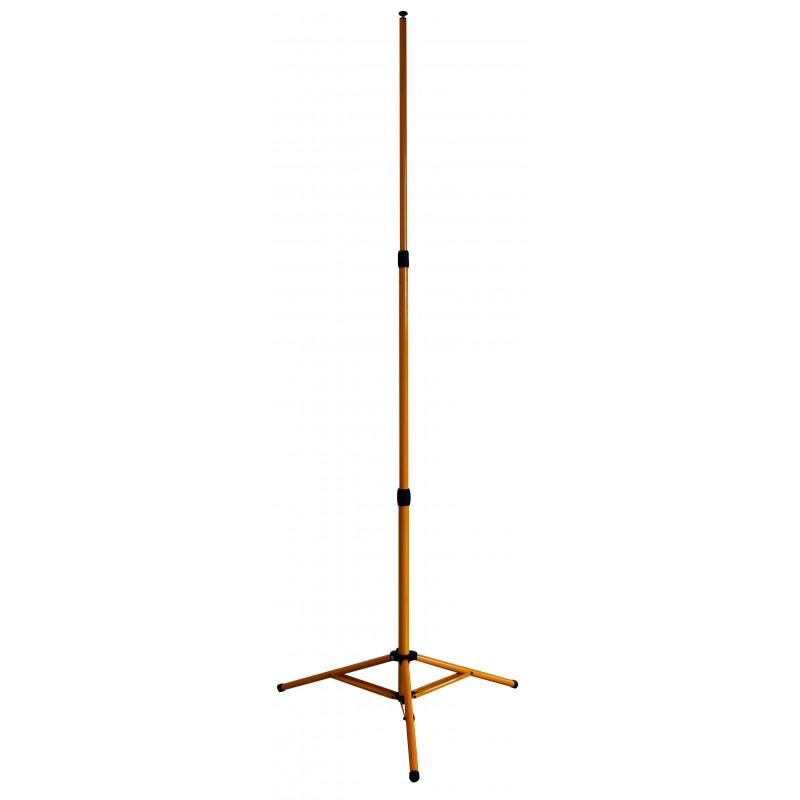 Ausziehbares Stativ, Höhe: 2,65 m. Für Projektoren TRIPOD-265 Stative Velamp
