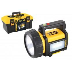 Faro torcia led ricaricabile led 10w + lanterna + luce rossa + power bank doomster pro master ST999-10L Torce LED Stak