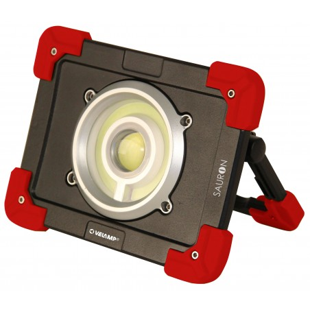 SAURON: LED rechargeable floodlight, 20W 1200 lm IR827 Velamp Rechargeable spotlights