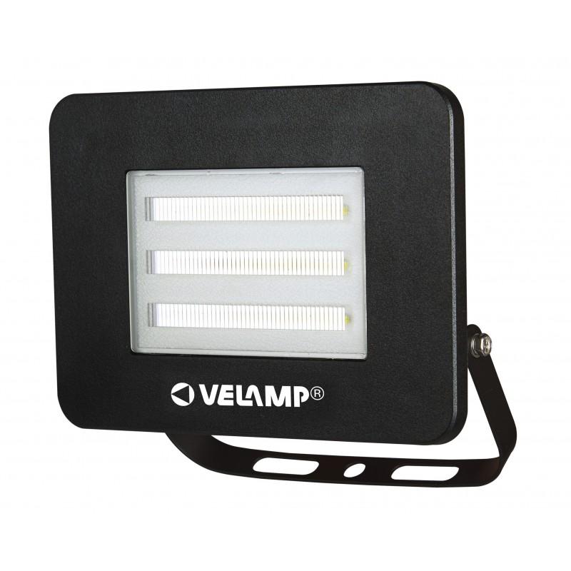 PADLIGHT4, projecteur LED SMD IP65 20W, noir, 4000K IS745-4-4000K Projecteurs d'extérieur Velamp