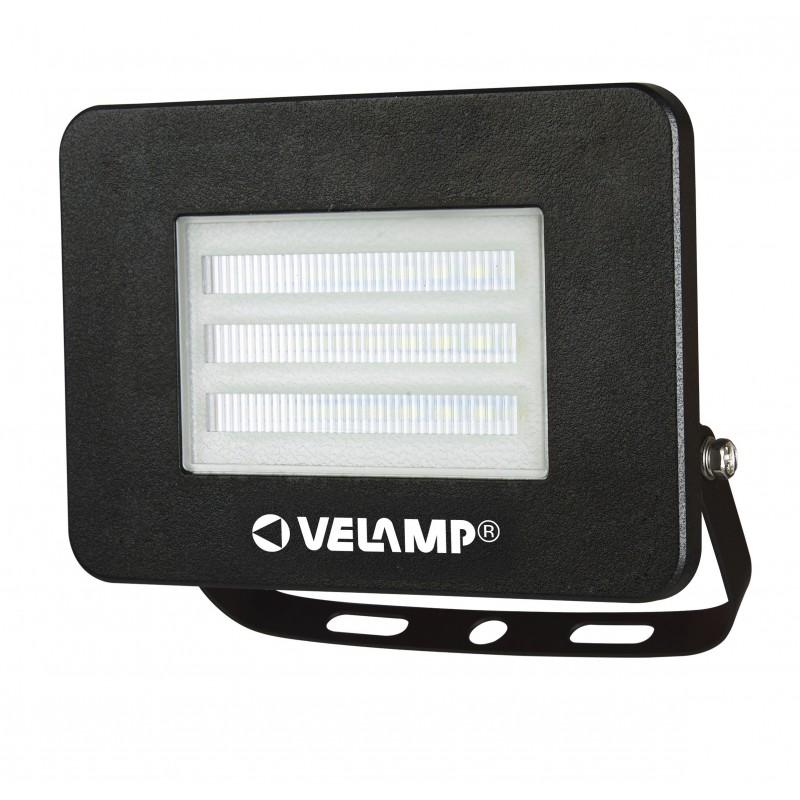 Proiettore led smd 30w ip65 6500k padlight4 nero IS755-4-6500K Faretti led da esterno Velamp