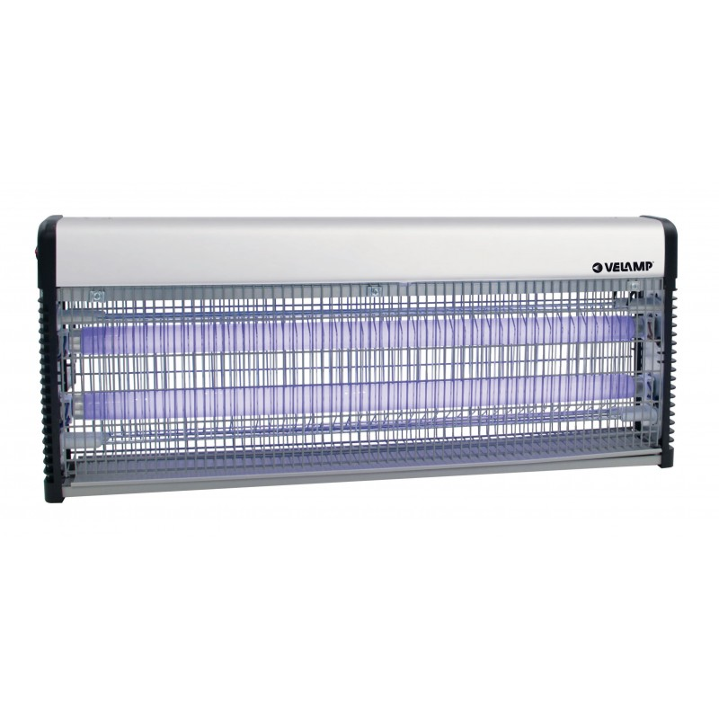 THUNDER MAXI: Professional electric mosquito net. 2 18W UV tubes MK340 Velamp Mosquito killer