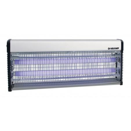 THUNDER MAXI: mosquitera eléctrica profesional. 2 tubos UV de 18 W MK340 Velamp Red mosquito eléctrico