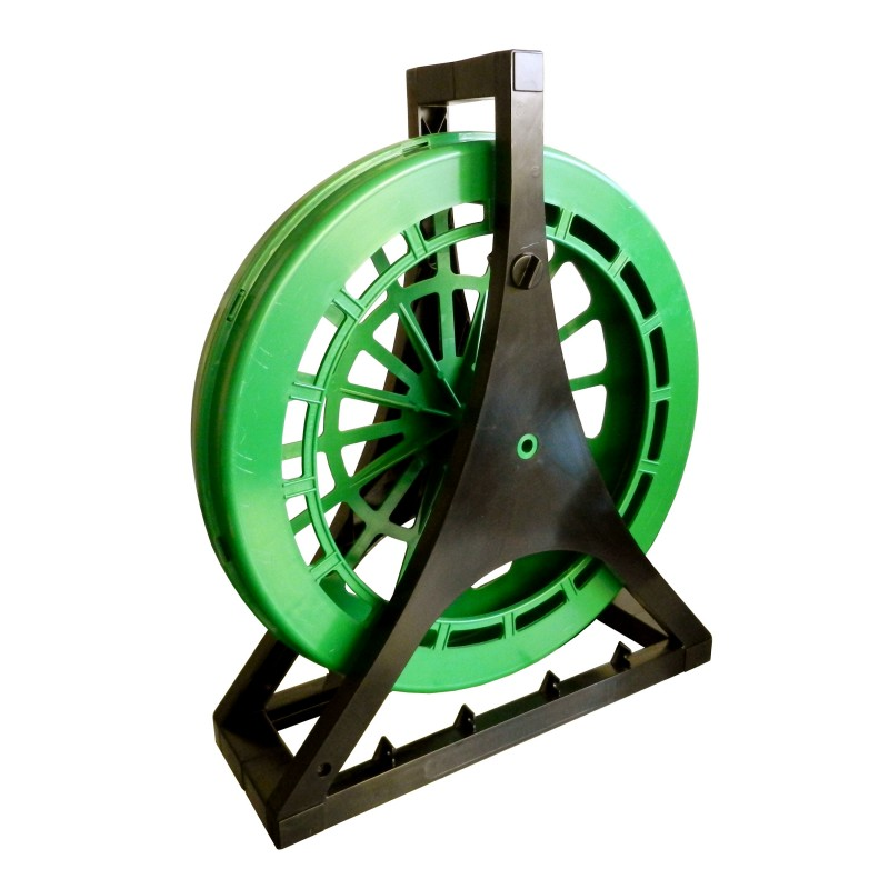 Vertical plastic reel Ø 420mm for cable pulling probes up to 50 meters ASP04 Velamp Fishtape accessories