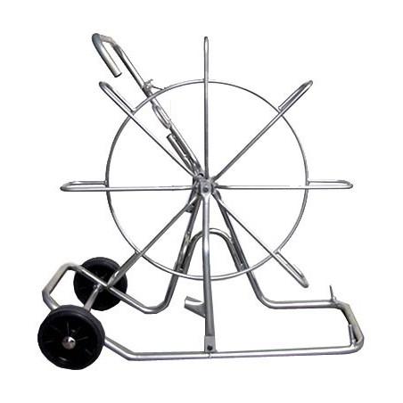 Vertikale Rolle Ø 800 mm für Kabelzugsonden mit Rädern ASP05 Zubehör Stak