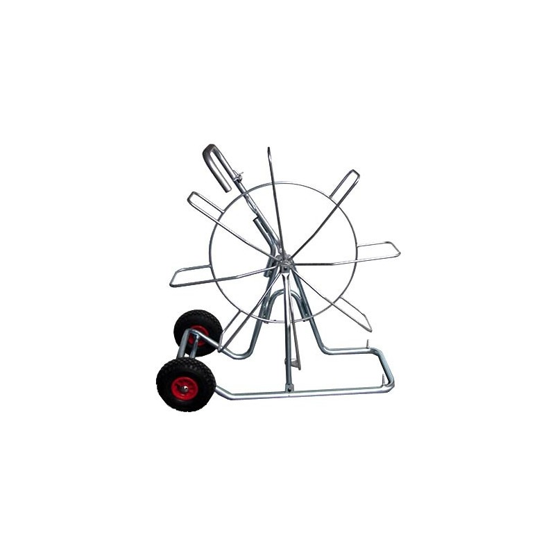 Vertical reel Ø 1000mm for cable pulling probes, with wheels ASP06 Stak Fishtape accessories