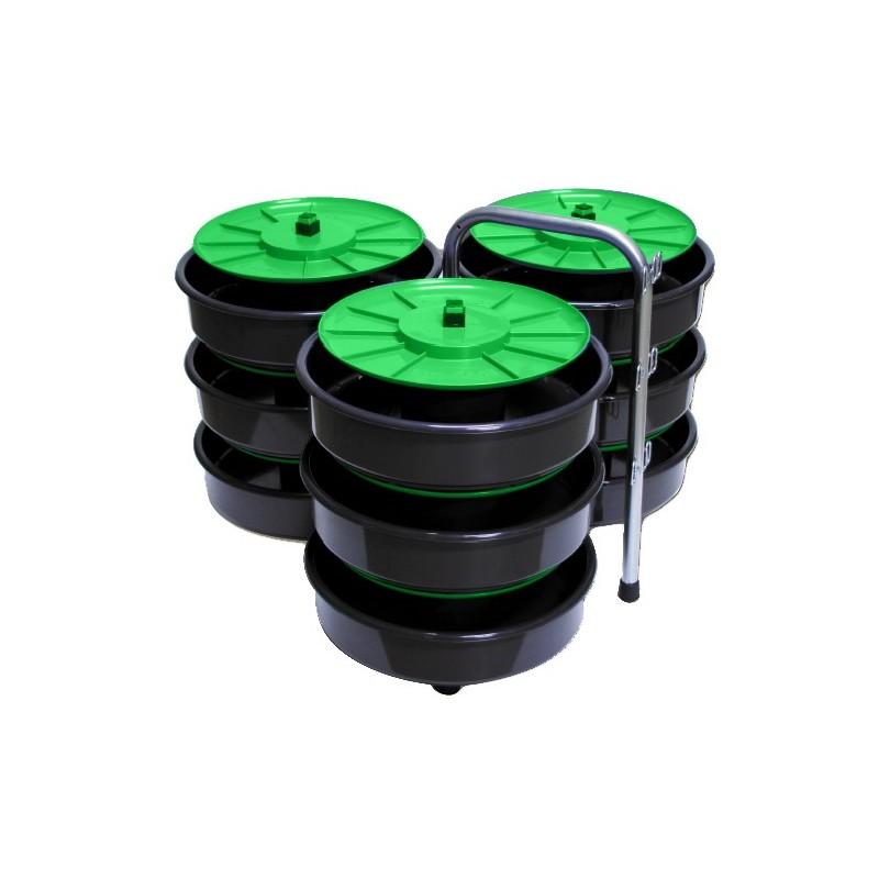 Desbobinador mod. CARRETE SUPERIOR 9 madejas, para guia pasacables  PM04 Stak Accesorios