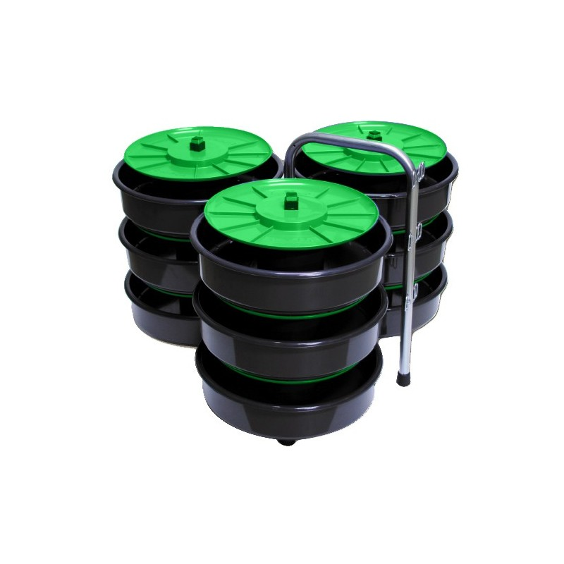 Unwinder mod. TOP REEL 9 skeins, for cable pulling probes PM04 Stak Fishtape accessories