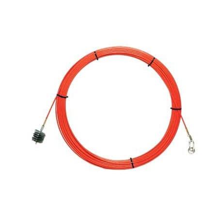 Sonda tiracavi SNAKE in fibra di vetro Ø11 mm, 50 metri SFI11-050 Sonde uso industriale Stak