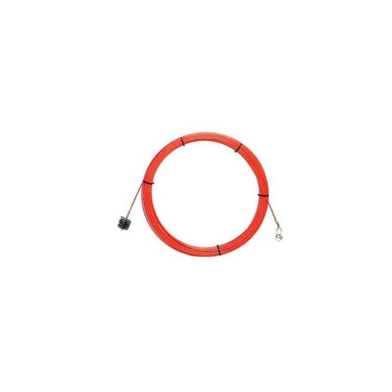 Sonda tiracavi SNAKE in fibra di vetro Ø9mm, 100 metri SFI9-100 Sonde uso industriale Stak