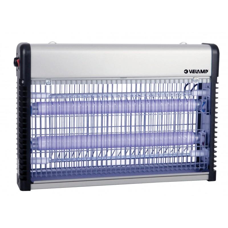 THUNDER MIDI: Zanzariera elettrica professionale. 2 tubi UV da 10W MK320 Antizanzare Velamp