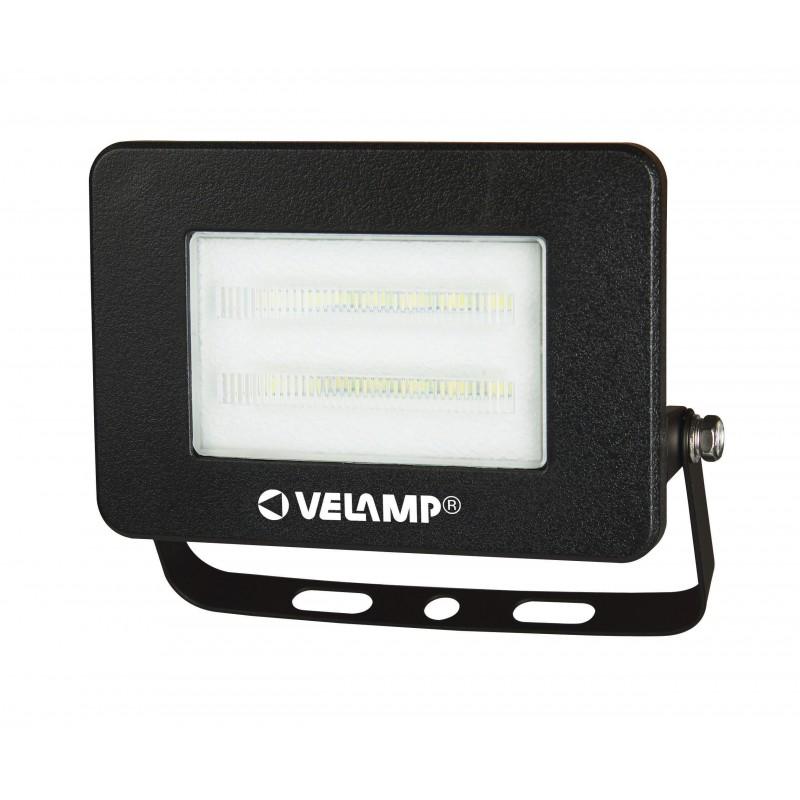 PADLIGHT4, proiettore LED SMD 10W IP65, nero 6500K IS740-4-6500K Faretti LED da esterno Velamp