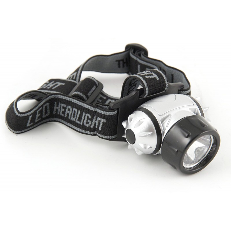 1W LED headlamp with flash function IH510.DL.006L Velamp LED headlamps
