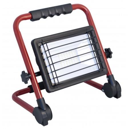 WAINGRO: projecteur LED SMD 50W. Support alu pliable, câble 3mt IS766 Projecteurs sur support Velamp