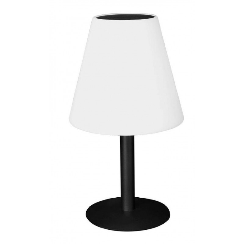 MINI EXTENZA SOLAR: Lámpara de mesa RGB con recarga solar SL2044 Velamp Luces decorativas para el jardín