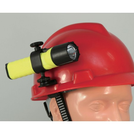 Helmmontageclip FATEX01. FA01C LED Taschenlampen Velamp