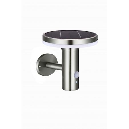 DEVILS 600lm solar charging wall lamp with IR motion sensor SL330 Velamp Solar lighting
