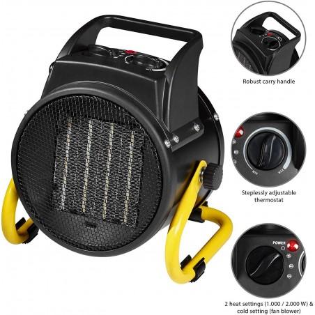 2kW PTC heater STH2000W Stak Jobsite heaters and fans