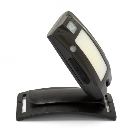Luce frontale torcia led 150lm con interruttore contactless ricaricabile metros IH523 Torce LED Velamp