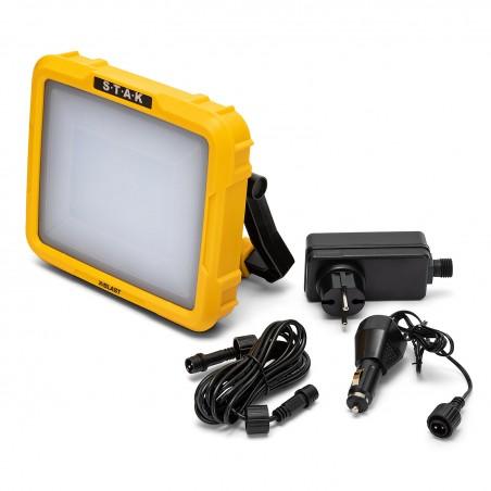 X BLAST 30W: LED Akku-Zonen-Strahler, wiederaufladbar, 2400 LM ST223 Wiederaufladbare Arbeitsleuchten für den Profi Velamp