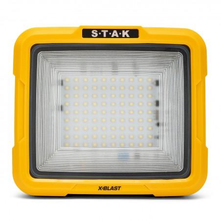 XBLAST 50W: LED zone light con cable de 3m y conector schuko. 4700lm STA50D Velamp Proyectores con soporte en H