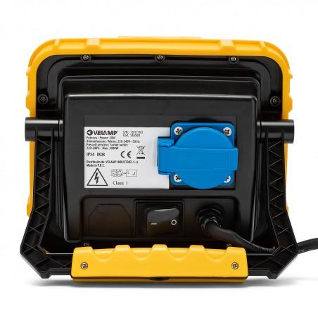 XBLAST 50W: projecteur LED avec câble 3m et prise de service STA50D Projecteurs sur support Velamp