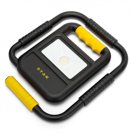 TOAD 2: projecteur LED 20W rechargeable avec base pliable ST898 Projecteurs rechargeables pour professionnels Velamp