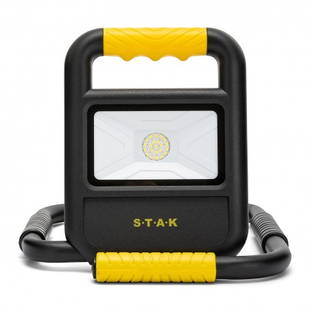 TOAD 2: foldable and rechargeable 20W LED floodlight. IP54 ST898 Velamp Rechargeable heavy duty worklights