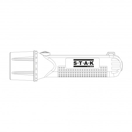 Ex geschützte Taschenlampe ATEX 1W OSRAM IP67 FATEX01.ST.006S Luci da Cantiere Stak