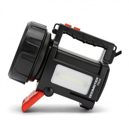 DOOMSTER TREKK: faro ricaricabile LED 10W + lanterna + powerbank IR666-10W.006S Fari da lavoro (spotlight) Velamp