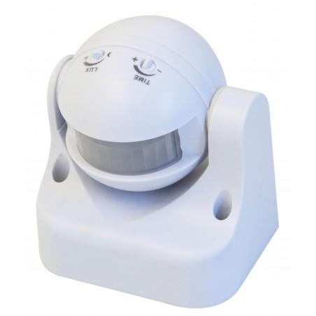 Adjustable IP44 IR motion sensor MS002.006L Velamp Motion and CDS sensors