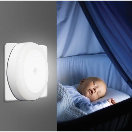 DROPLED: LED night light with CDS switch IL27LED.012L Velamp Nightlights