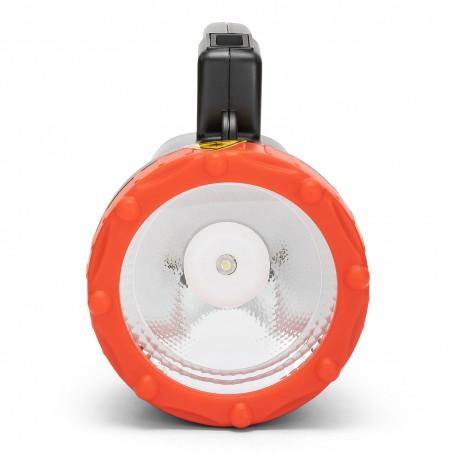 Phare portable rechargeable 1W. 90 Lumen. 150m. IR551LED.DL.006S Luci da Cantiere Velamp Basics