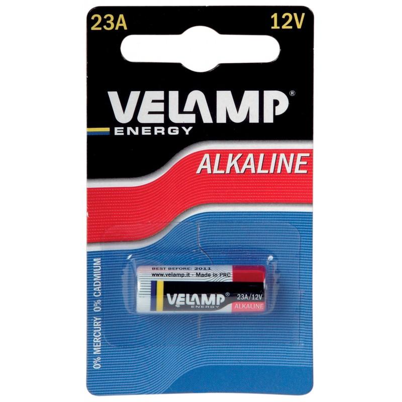 Pila alcalina LR23A, 12V  LR23A/1BP Velamp Alcalinas