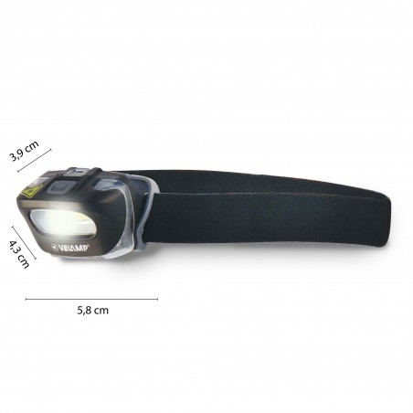 ZEUS: 3W COB headlamp IH522.006L Velamp LED flashlights