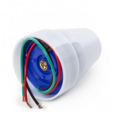 Interruttore crepuscolare ip44 civetta MS012.006L Sensori di movimento Velamp