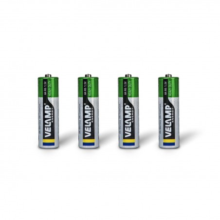 Pila Zinc Carbon STILO R6 AA 1,5V R6/4BP Velamp Salinas