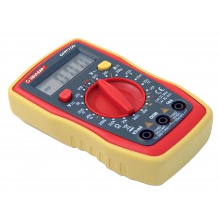 7 functions digital tester. With leads DMT700.006L Velamp Digital multimeters