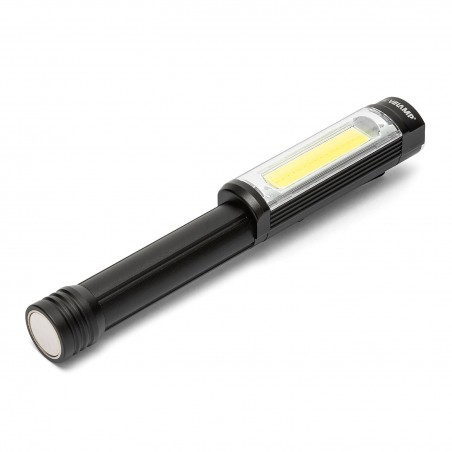 BIG DADDY: 3W COB LED alu flashlight with red light and magnet IN256 Velamp LED flashlights